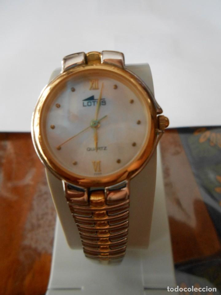 RELOJ DE PULSERA DE SEÑORA O CADETE LOTUS. 5 MICRON GOLD PLATED. (Relojes - Relojes Actuales - Lotus)