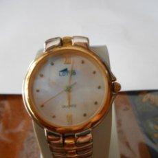 Relojes - Lotus: RELOJ DE PULSERA DE SEÑORA O CADETE LOTUS. 5 MICRON GOLD PLATED.. Lote 128290507
