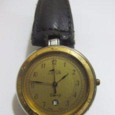 Relojes - Lotus: RELOJ CLÁSICO LOTUS DE CUARZO, CON CALENDARIO - SWISS MADE. Lote 186440685