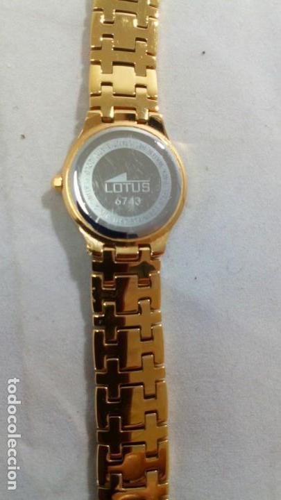 Uhren - Lotus: Reloj pulsera electrónico cuarzo Sra. LOTUS, dorado - Foto 7 - 130755148