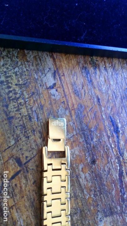 Uhren - Lotus: Reloj pulsera electrónico cuarzo Sra. LOTUS, dorado - Foto 8 - 130755148