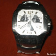 Relojes - Lotus: RELOJ CRONO LOTUS ACERO CRISTAL UN POCO RALLADO. Lote 131356946