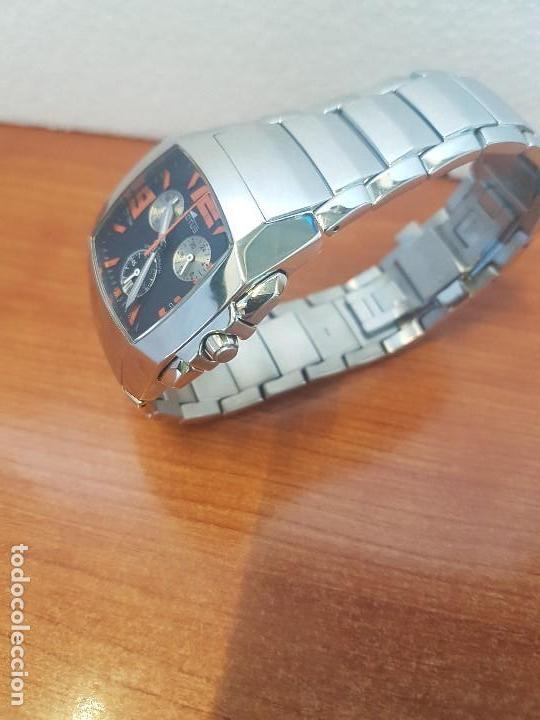 Relojes - Lotus: Reloj caballero LOTUS de cuarzo cronografo en acero, correa acero original de LOTUS de stock tienda - Foto 8 - 133165330