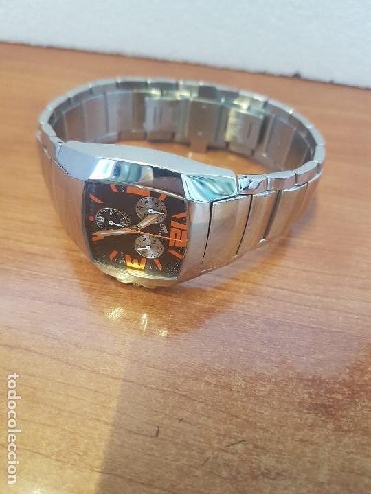 Relojes - Lotus: Reloj caballero LOTUS de cuarzo cronografo en acero, correa acero original de LOTUS de stock tienda - Foto 9 - 133165330