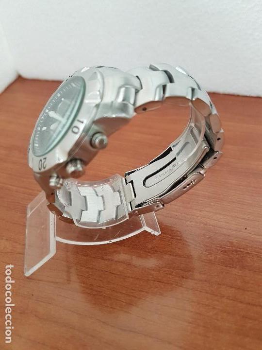 Relojes - Lotus: Reloj caballero LOTUS de cuarzo con calendario a las tres, correa de acero original LOTUS - Foto 5 - 138648250