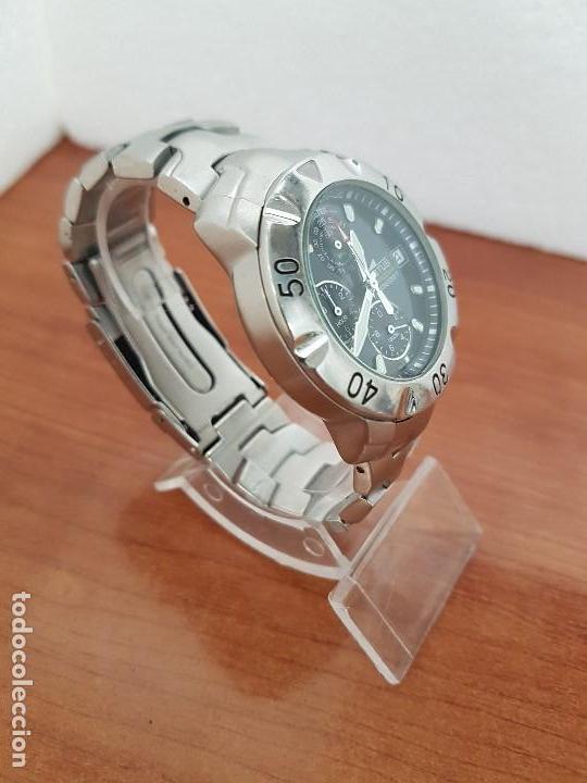 Relojes - Lotus: Reloj caballero LOTUS de cuarzo con calendario a las tres, correa de acero original LOTUS - Foto 16 - 138648250