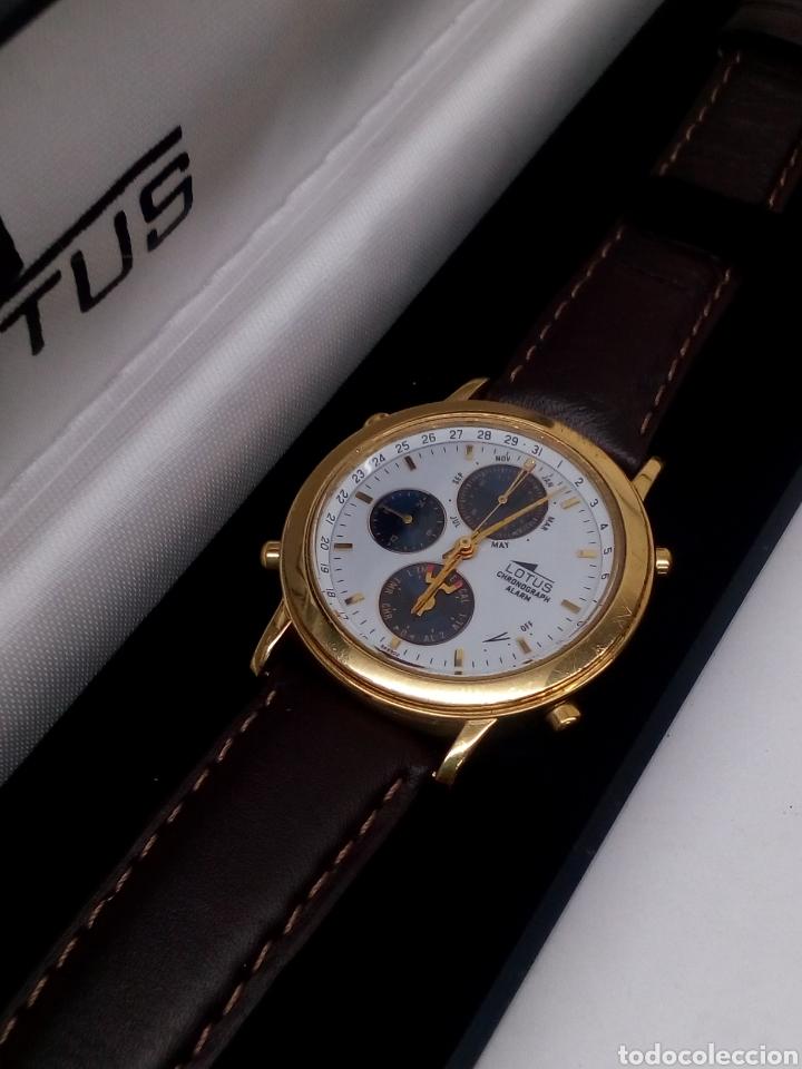 Relojes - Lotus: Reloj Lotus cronógrafo en su estuche nuevo chronograph y alarma vintage - Foto 3 - 141230613
