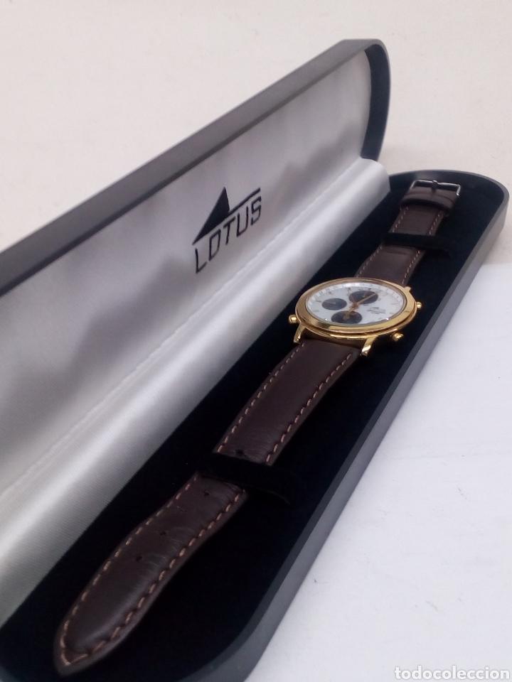 Relojes - Lotus: Reloj Lotus cronógrafo en su estuche nuevo chronograph y alarma vintage - Foto 4 - 141230613