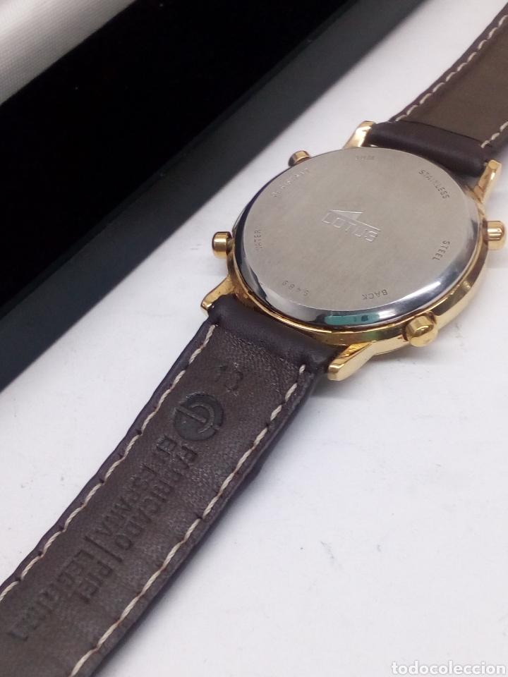 Relojes - Lotus: Reloj Lotus cronógrafo en su estuche nuevo chronograph y alarma vintage - Foto 2 - 141230613