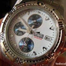 Relojes - Lotus: RELOJ MARCA LOTUS PARA CABALLERO - WATER RESIST 100 MTS.. Lote 142688826