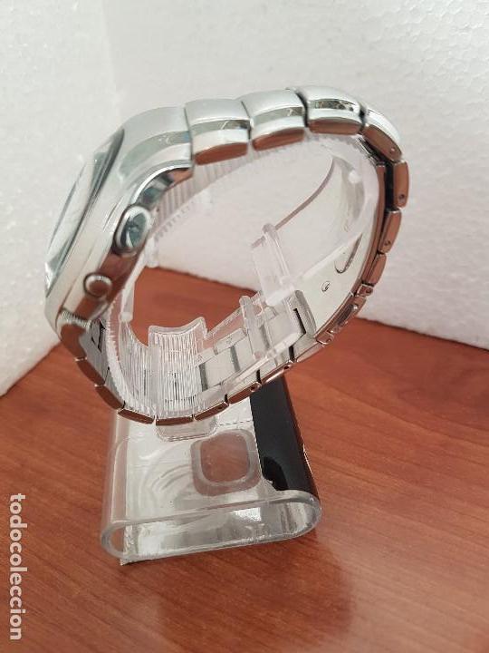 Relojes - Lotus: Reloj caballero LOTUS de cuarzo con alarma y calendario a las tres, correa de acero original LOTUS - Foto 7 - 144545658