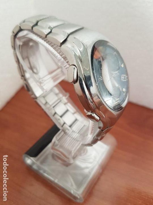 Relojes - Lotus: Reloj caballero LOTUS de cuarzo con alarma y calendario a las tres, correa de acero original LOTUS - Foto 9 - 144545658