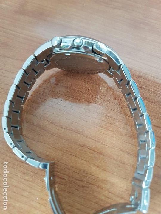 Relojes - Lotus: Reloj caballero LOTUS de cuarzo con alarma y calendario a las tres, correa de acero original LOTUS - Foto 10 - 144545658