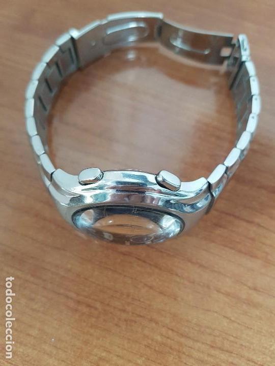 Relojes - Lotus: Reloj caballero LOTUS de cuarzo con alarma y calendario a las tres, correa de acero original LOTUS - Foto 13 - 144545658