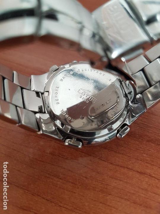 Relojes - Lotus: Reloj caballero LOTUS de cuarzo con alarma y calendario a las tres, correa de acero original LOTUS - Foto 14 - 144545658