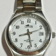 Relojes - Lotus: LOTUS DE MUJER 26,4 M/M.Ø,SEGUNDERO,CALENDARIO,TODO DE ACERO,CRISTAL MINERAL,PULSERA MAX 195 M/M.. Lote 145796502