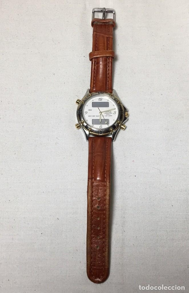 Relojes - Lotus: Reloj Lotus Chrono Alarm con correa original de cuero - Funcionando - Foto 3 - 147250414