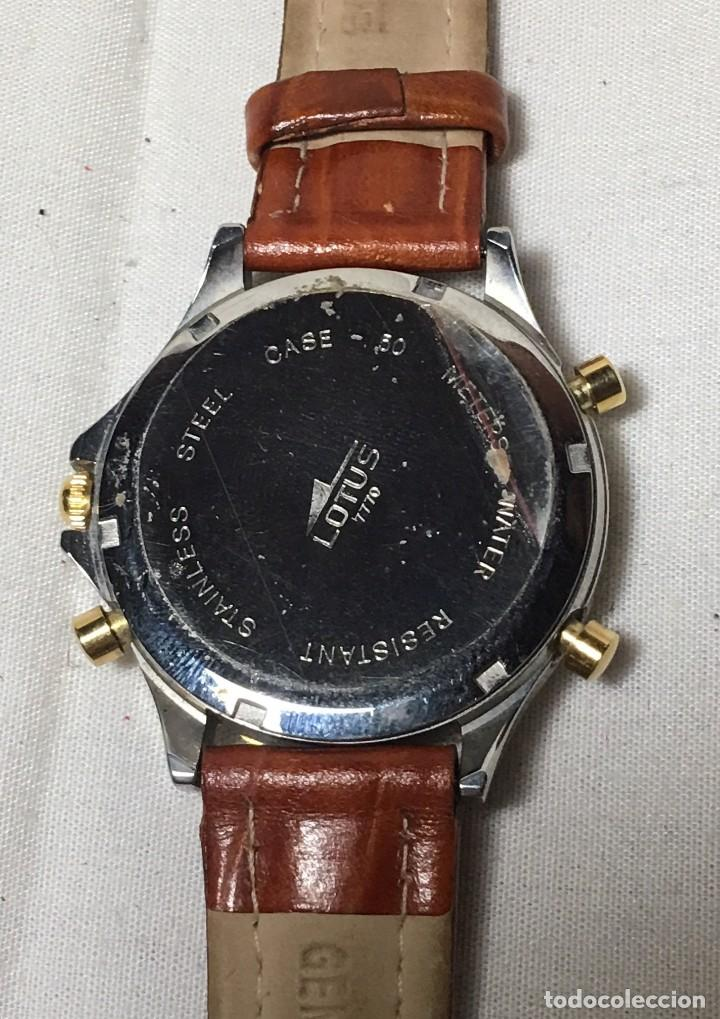 Relojes - Lotus: Reloj Lotus Chrono Alarm con correa original de cuero - Funcionando - Foto 5 - 147250414