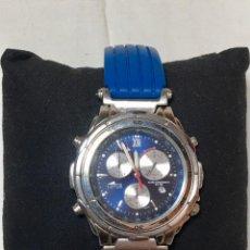 Relojes - Lotus: RELOJ LOTUS ALARM CHRONO WR 100 CON CORREA AZUL - FUNCIONANDO. Lote 147335014