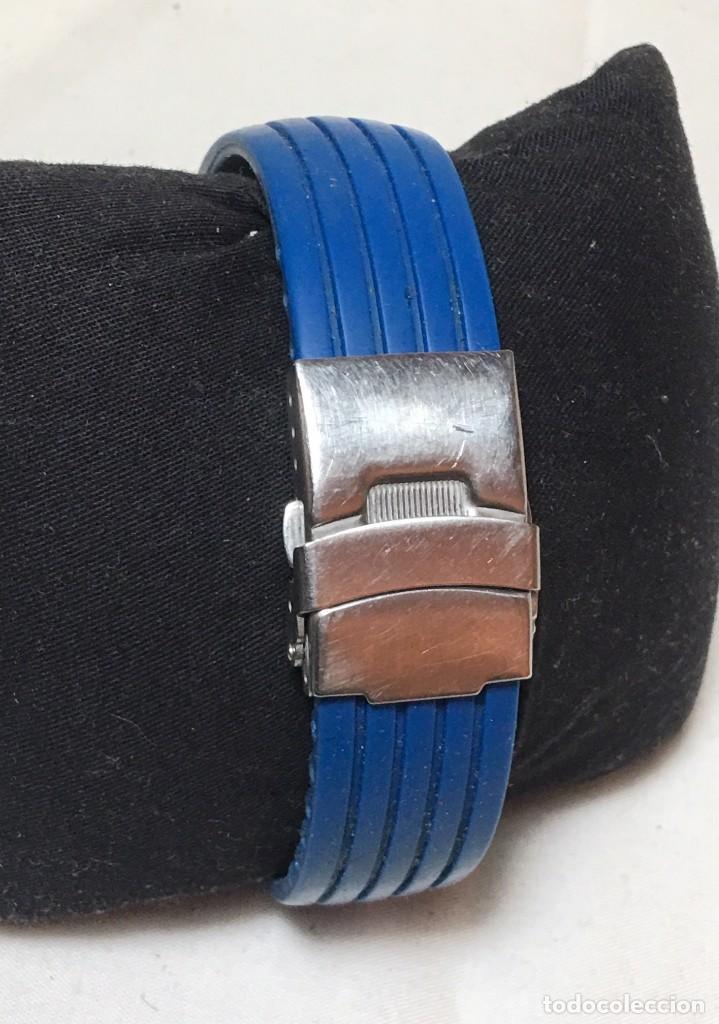 Relojes - Lotus: Reloj Lotus Alarm Chrono WR 100 con correa azul - Funcionando - Foto 3 - 147335014