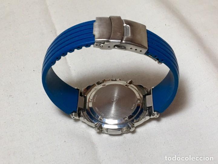 Relojes - Lotus: Reloj Lotus Alarm Chrono WR 100 con correa azul - Funcionando - Foto 4 - 147335014