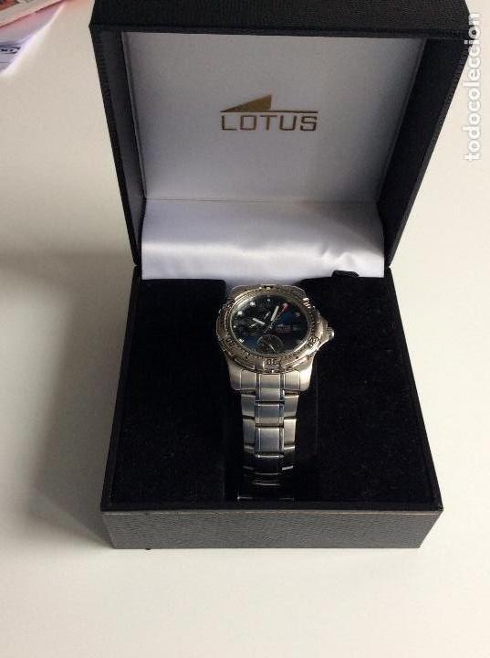 Relojes - Lotus: Reloj lotus analógico funcionando perfectamente. Sin usar - Foto 2 - 147968394