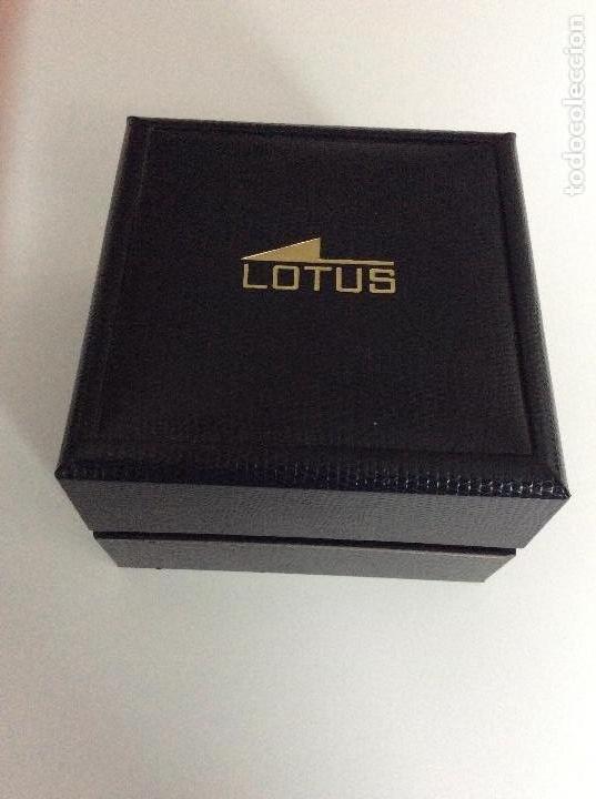 Relojes - Lotus: Reloj lotus analógico funcionando perfectamente. Sin usar - Foto 3 - 147968394