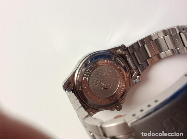 Relojes - Lotus: Reloj lotus analógico funcionando perfectamente. Sin usar - Foto 5 - 147968394