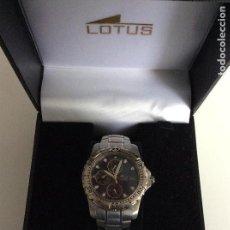 Relojes - Lotus: RELOJ LOTUS ANALÓGICO FUNCIONANDO PERFECTAMENTE. SIN USAR. Lote 147968394