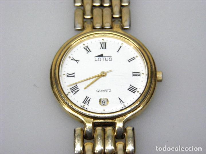 RELOJ DE PULSERA LOTUS - CORREA ORIGINAL. (Relojes - Relojes Actuales - Lotus)