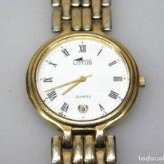 Relojes - Lotus: RELOJ DE PULSERA LOTUS - CORREA ORIGINAL.. Lote 178991030