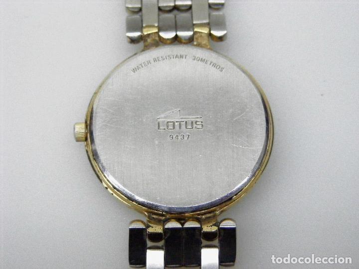 Relojes - Lotus: RELOJ DE PULSERA LOTUS - CORREA ORIGINAL. - Foto 4 - 178991030