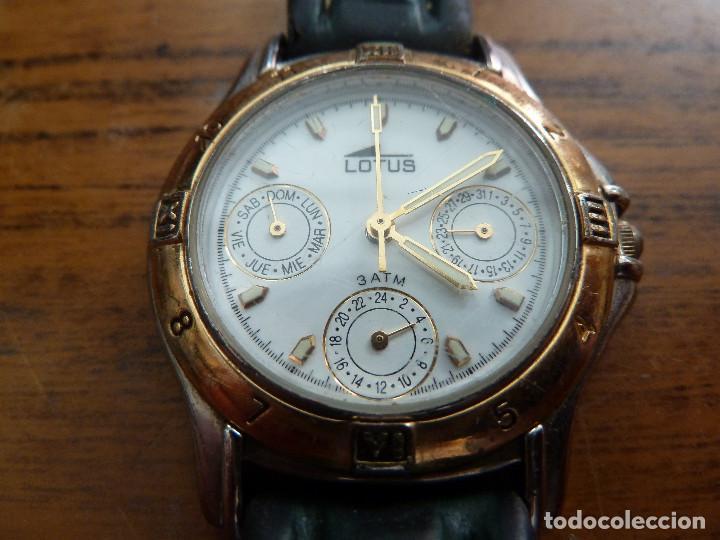 6336ed9f99f9 reloj de pulsera lotus - Buy Lotus Watches at todocoleccion - 161808282