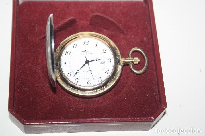Relojes - Lotus: RELOJ DE BOLSILLO CAZADOR LOTUS , QUARZ - Foto 3 - 161976358