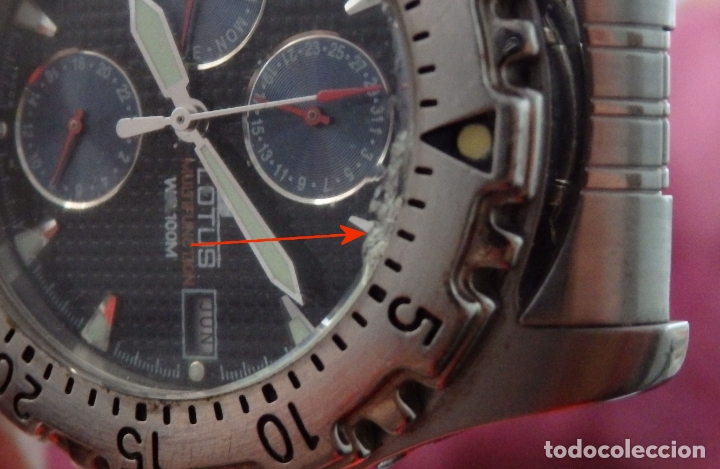 Relojes - Lotus: RELOJ LOTUS MULTIFUNCION 15009 - Foto 8 - 165157838