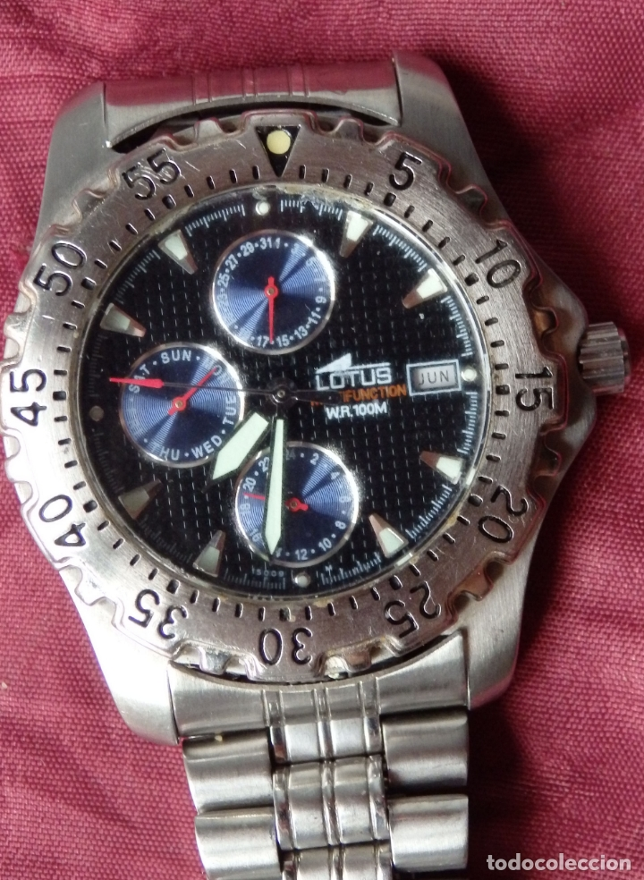 Relojes - Lotus: RELOJ LOTUS MULTIFUNCION 15009 - Foto 1 - 165157838