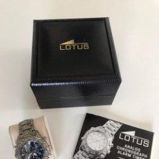 Relojes - Lotus: RELOJ LOTUS TITANIO. Lote 178880245