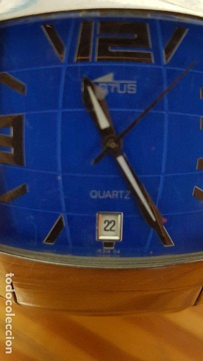 Relojes - Lotus: RELOJ LOTUS QUARTZ 15314 04. CORREA 15313. RELOJ Y CORREA DE ACERO ORIGINALES. LEER DESCRIPCIÓN. - Foto 2 - 210263505