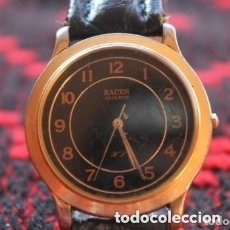 Relojes - Lotus: RELOJ DE MUJER MARCA RACER QUARZ CON CORREA CUERO GENUINA DE LOTUS. Lote 181351898