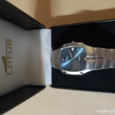Relojes - Lotus: RELOJ ORIGINAL LOTUS DE FINALES DE LOS AÑOS 90 Y PRINCIPIOS DEL 2000. NO COPIA NI IMITACIÓN. Lote 181836287