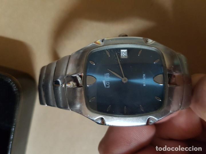 Relojes - Lotus: Reloj original Lotus de finales de los años 90 y principios del 2000. NO COPIA ni Imitación - Foto 2 - 181836287