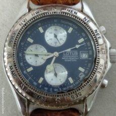 Relojes - Lotus: LOTUS 14007 CRONÓGRAFO 100 METROS. Lote 182062507