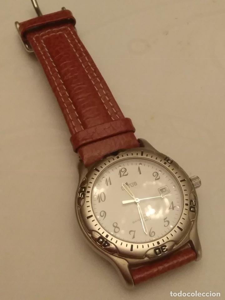 Relojes - Lotus: Reloj Lotus caballero, con cadena y correa de repuesto Tipo de cristal del dial: cristal mineral - Foto 6 - 182104385