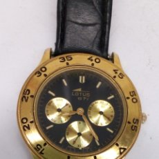 Relojes - Lotus: RELOJ LOTUS QUARTZ GTI. Lote 182953855