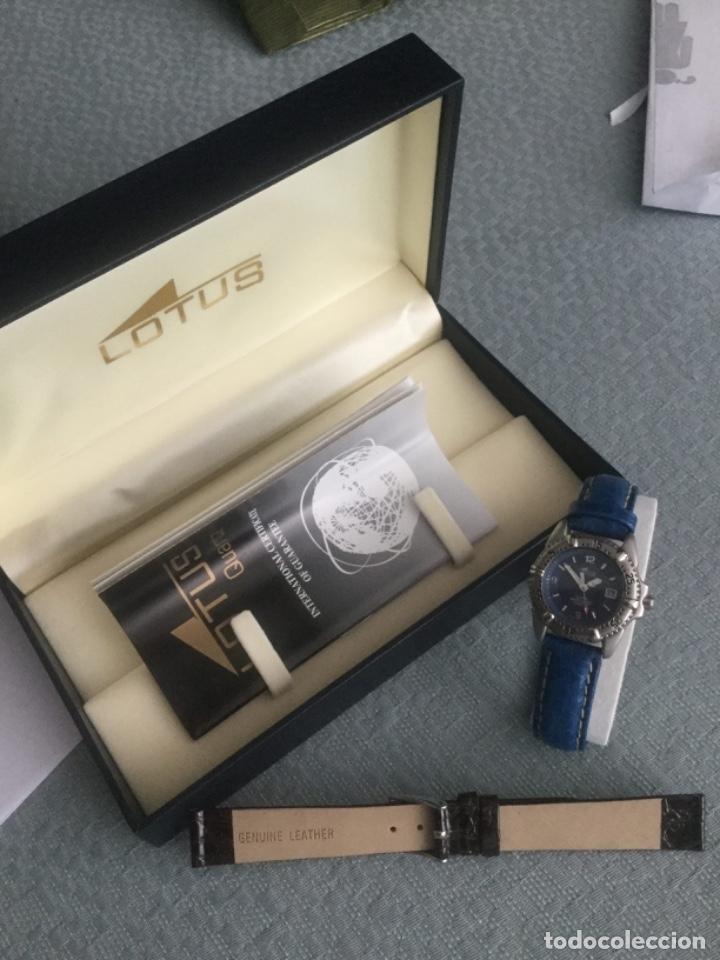 Relojes - Lotus: Reloj de señora marca Lotus perfecto estado, regalo correa piel nueva - Foto 6 - 183035667