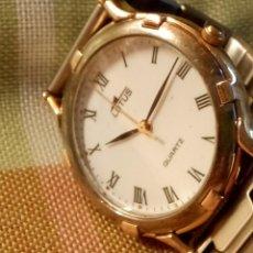 Relojes - Lotus: LOTUS - QUARTZ. 34.40 MM. S/C. FUNCIONANDO.PILA NUEVA NBRE 2.019. SEMINUEVO-ACERO. DESCRIP. Y FOTOS.. Lote 183460890