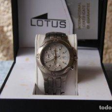 Relojes - Lotus: RELOJ DE PULSERA HOMBRE COLECCIÓN LOTUS TITANIO - MODELO 15184. Lote 183568823