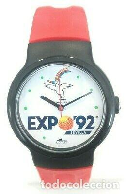 VINTAGE RELOJ LOTUS COLECCIÓN EXPO 92 SEVILLA . NUEVO. (Relojes - Relojes Actuales - Lotus)