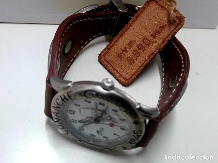 Relojes - Lotus: CURIOSO RELOJ LOTUS SERIE COMANCHE AÑOS 80 DE CUARZO Y NUEVO - Foto 4 - 191960091