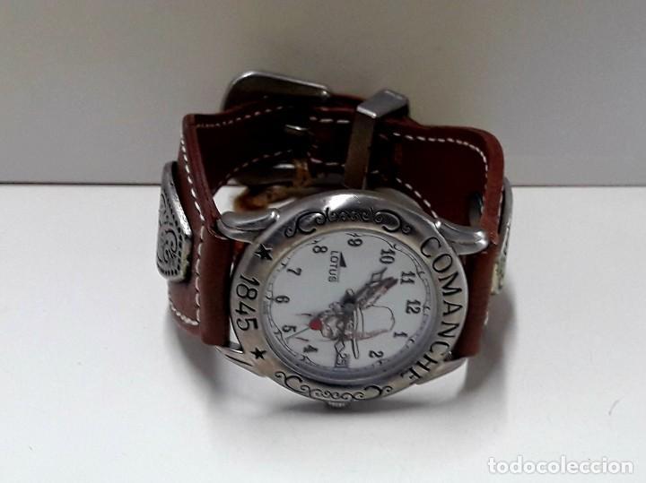 Relojes - Lotus: CURIOSO RELOJ LOTUS SERIE COMANCHE AÑOS 80 DE CUARZO Y NUEVO - Foto 7 - 191960091